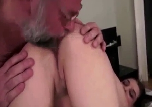 Dirty granddaughter and a horny as fuck grandpa